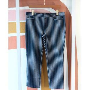 Banana Republic Sloan striped trousers